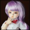 (6-7) Melrose Long Bang Wig (Violet)