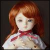(6-7) Melrose Long Bang Wig (Carrot)