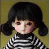 (5) Guyomi Mohair Wig (Black)