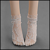 SD & MSD  - Lace Koto Socks (White)