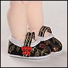 Dear Doll Size - Oriental Band Shoes (Black)