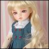 (6-7) Melrose Long Bang Wig (Blonde)