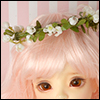 (7-8) Rosebud Flower Garlands (White)