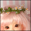(7-8) Wild Flower Garlands (White)