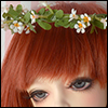 (8-9) Wild Flower Garlands (White)