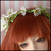(8-9) Daisy Flower Garlands (White)