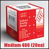 인피니 ISP-0400 프리미엄 초정밀 스폰지사포 미디움 0400 (1Box/20개)