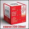 인피니 ISP-0220 프리미엄 초정밀 스폰지사포 코스 0220 (1Box/20개)
