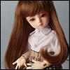 (6-7) Hailey Curl Wig (L.G.Brown)