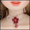 All Size - Crystal Red Necklace
