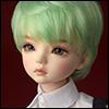 (7-8) Zeke Short Cut Wig (Green)