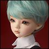 (7-8) Zeke Short Cut Wig (Blue)