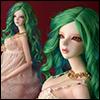 (8-9) Eldorado Parting Wig (Green)