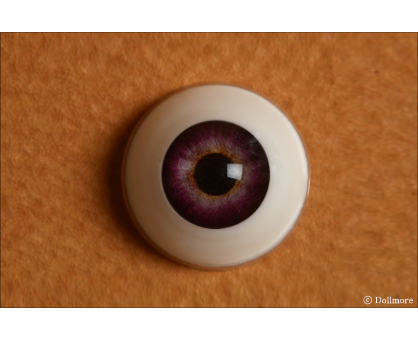 16mm - Optical Half Round Acrylic Eyes (MB08)