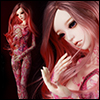 Model Doll F - Addict Pink ; Tattoo Lasia - LE10