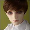 (8-9) Effic Short Wig (D.Brown)