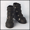 12inch MA Buckle Boots (Black)
