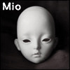 Dollmore Eve Doll Head - Mio (White Skin)