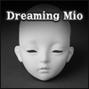 Dollmore Eve Doll Head - Dreaming Mio (White Skin)