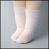 Bebe Doll Size - Meme Socks (White)