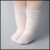 Bebe Doll Size - Meme Socks (White)