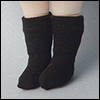 Bebe Doll Size - Meme Socks (Black)