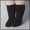 Bebe Doll Size - Meme Socks (Black)