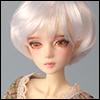 (4-5) Enfant Short Cut (White)