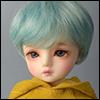 (6-7) Zeke Short Cut Wig (Blue)