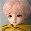 (6-7) Zeke Short Cut Wig (Pink)