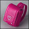 1/6 size - heart Ransel (D.Pink)