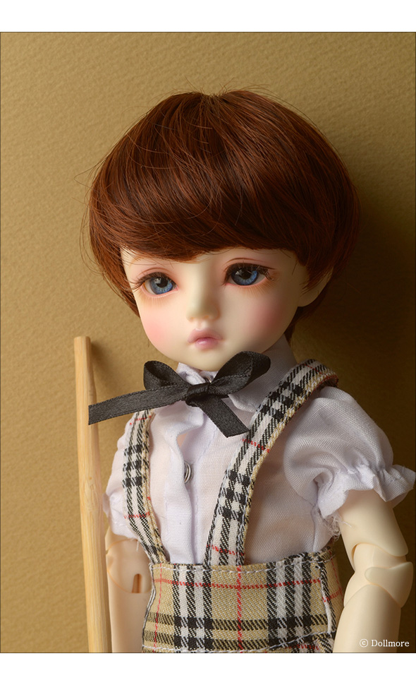 (6-7) Zeke Short Cut Wig (Brown)