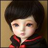 (6-7) Zeke Short Cut Wig (Black)