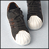 (선주문) 16 inch Fashion doll Size - KY Vintage Sneakers (B/W)