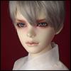 (8-9) Effic Short Wig (Gray)