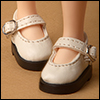 Mona Doll - Basic Girl Shoes (White)