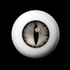 26mm - OMeta Half Round Acrylic Eyes(Gray 05)