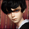 (8-9) Saiz Cut Wig (Black)