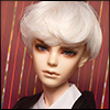 (8-9) Saiz Cut Wig (White)
