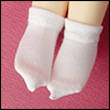Dear Doll Size - Smart Ankle Socks (White)