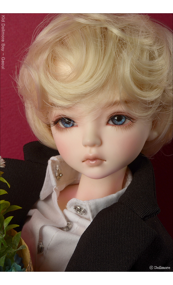 (7-8) Macaroon Short Cut Wig (Blond)