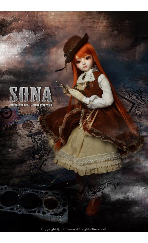 Judith Girl Doll - Start Stop Time  Sona - LE10