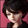 (7-8) Macaroon Short Cut Wig (Black)