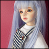 (7-8) Vogel Long Bang Wig (L Violet)