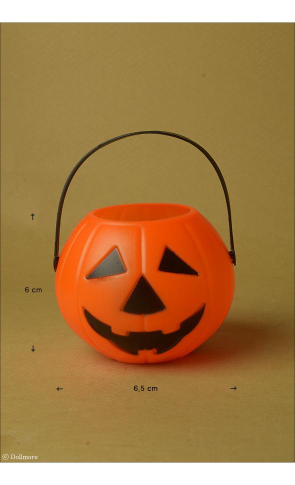 Small Size - Pumpkin Basket ( 바구니 / Orange )