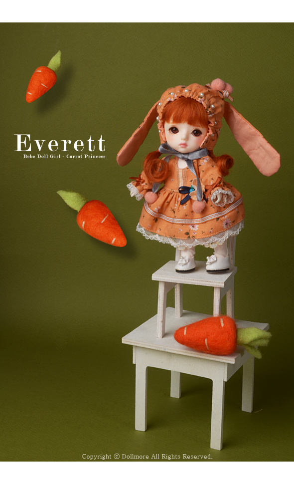 Bebe Doll Girl - Carrot Princess Everett - LE20
