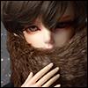 All Size - Echo Fur Muffler (Brown)