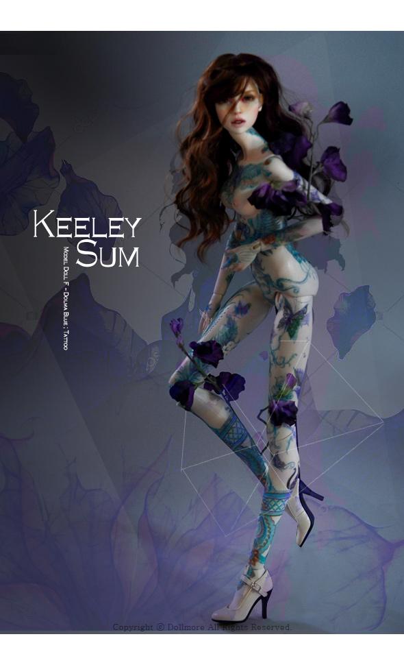 Model Doll F - Dolma Blue ; Tattoo keeley Sum - LE10