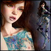 Model Doll F - Dolma Blue ; Tattoo keeley Sum - LE10