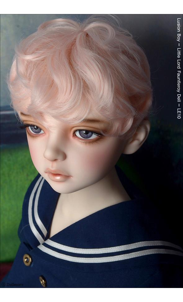 (13-14) Zeke Short Cut Wig (L.Pink)
